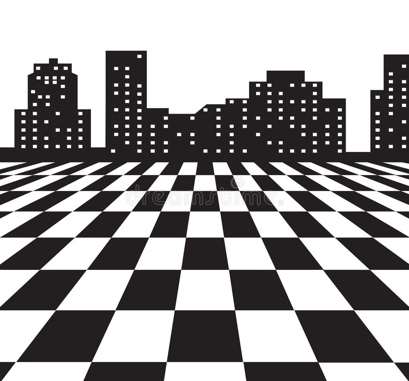 Download City stock vector. Illustration of design, backdrop, town - 3431890