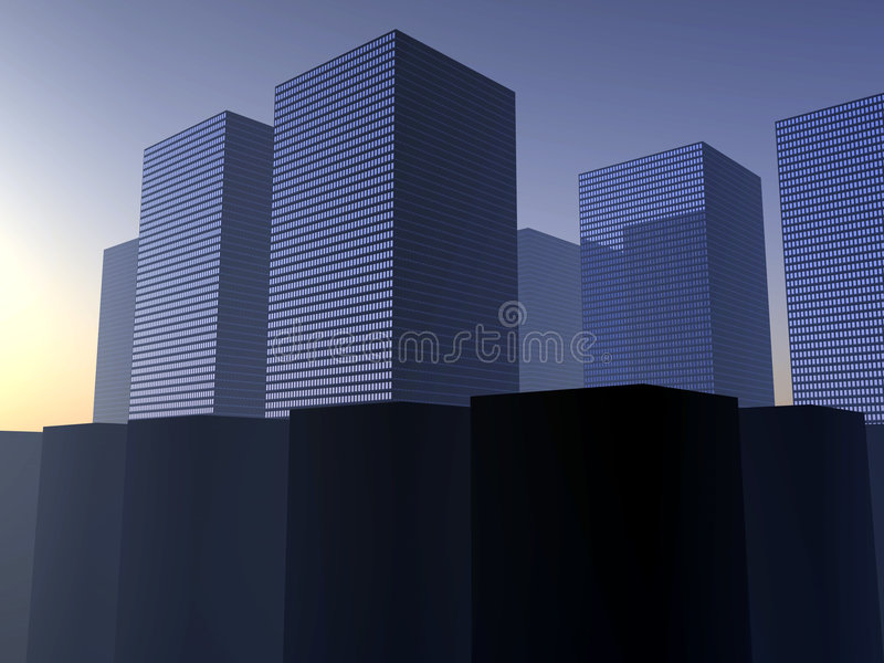 Download City 35 stock illustration. Image of metropolis, city, downtown - 992525