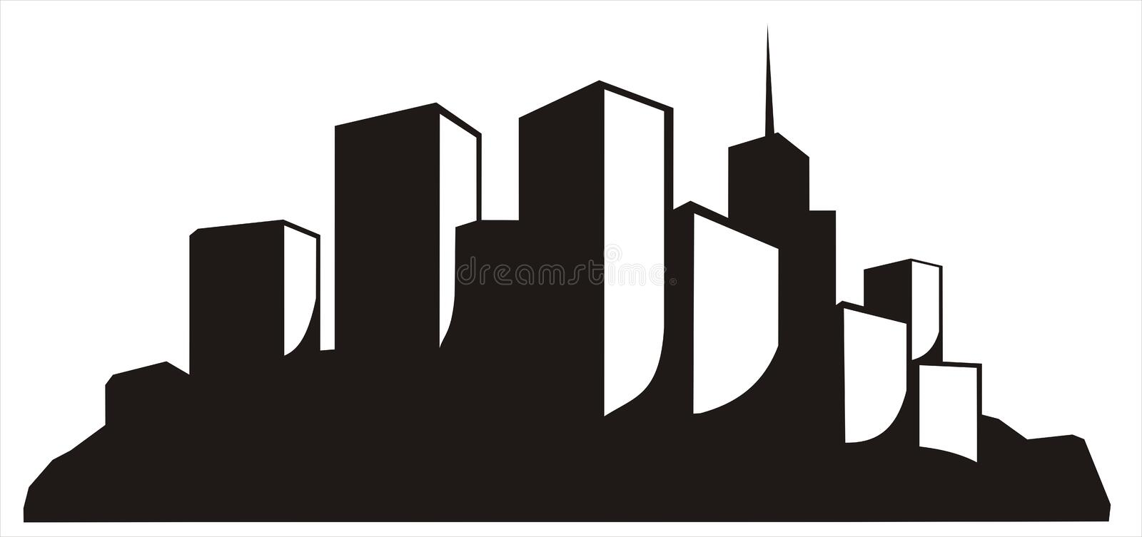 Download City stock vector. Illustration of isolated, part, object - 6226176