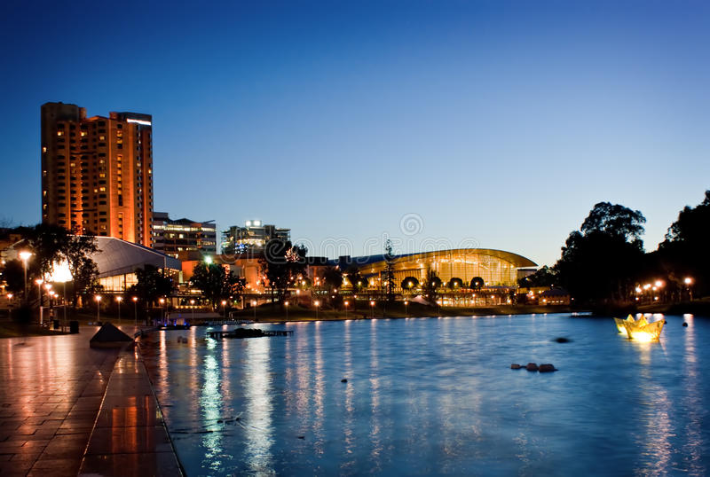 City of Adelaide royalty free stock photography