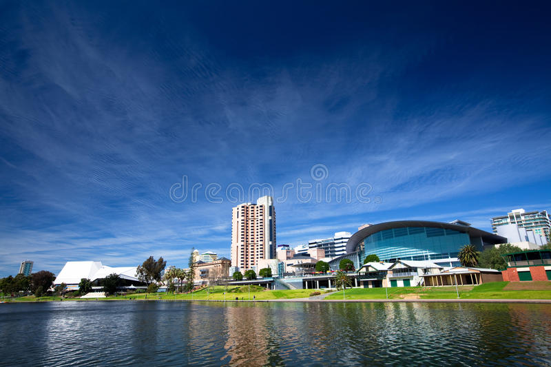 City of Adelaide royalty free stock image