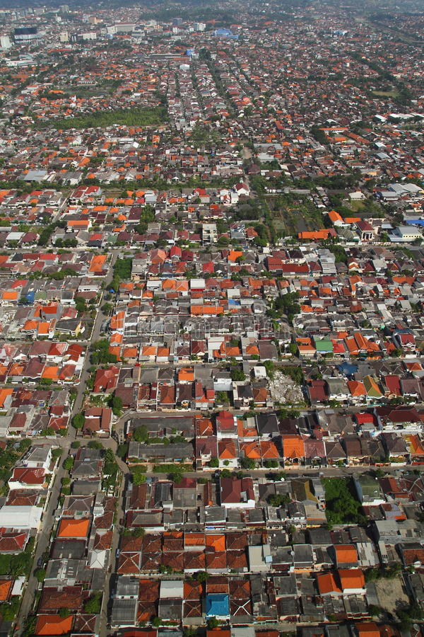 Download City Aerial View stock image. Image of populous, crowded - 24286177