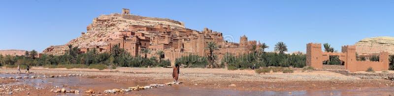 City Ait Benhaddou near Ouarzazate in Morocco royalty free stock photo