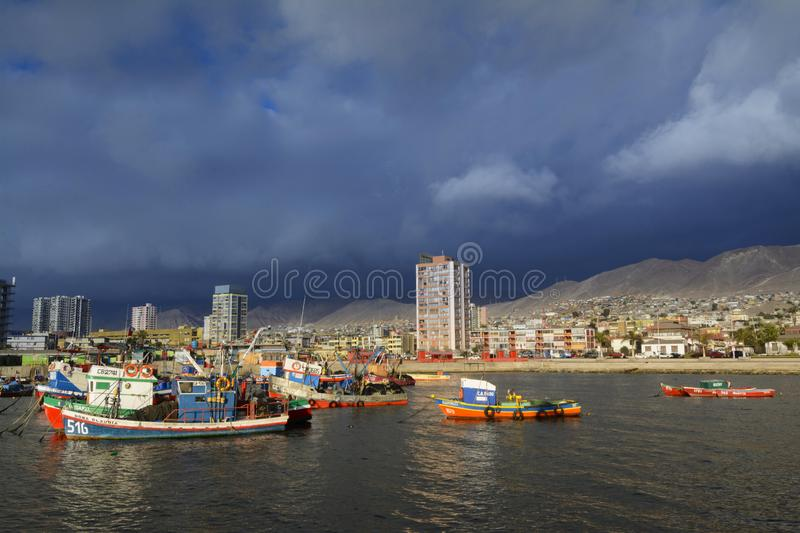 City of Antofagasta. Chile royalty free stock images