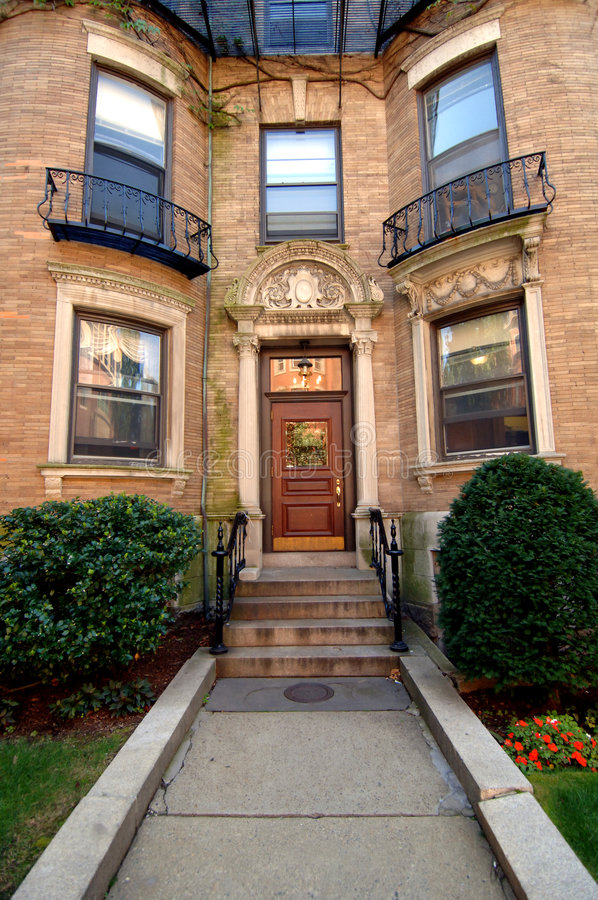 City Apartment Building Entrance. Download City apartment entrance stock image  Image of house front 6345801