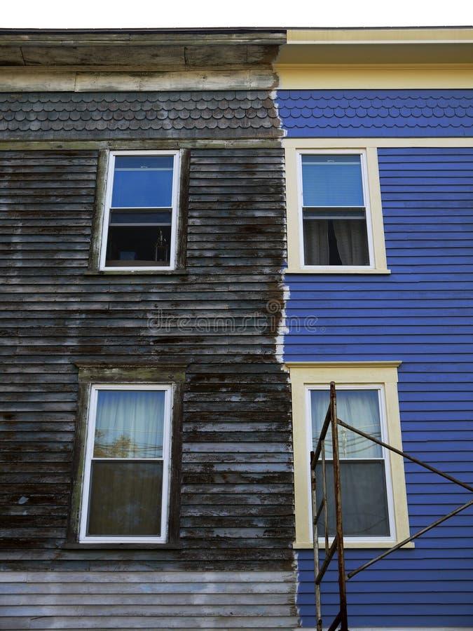 City: apartment renovation stock photo