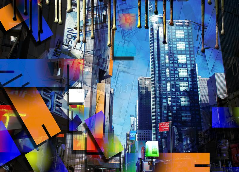 City Architecture Artwork stock photography
