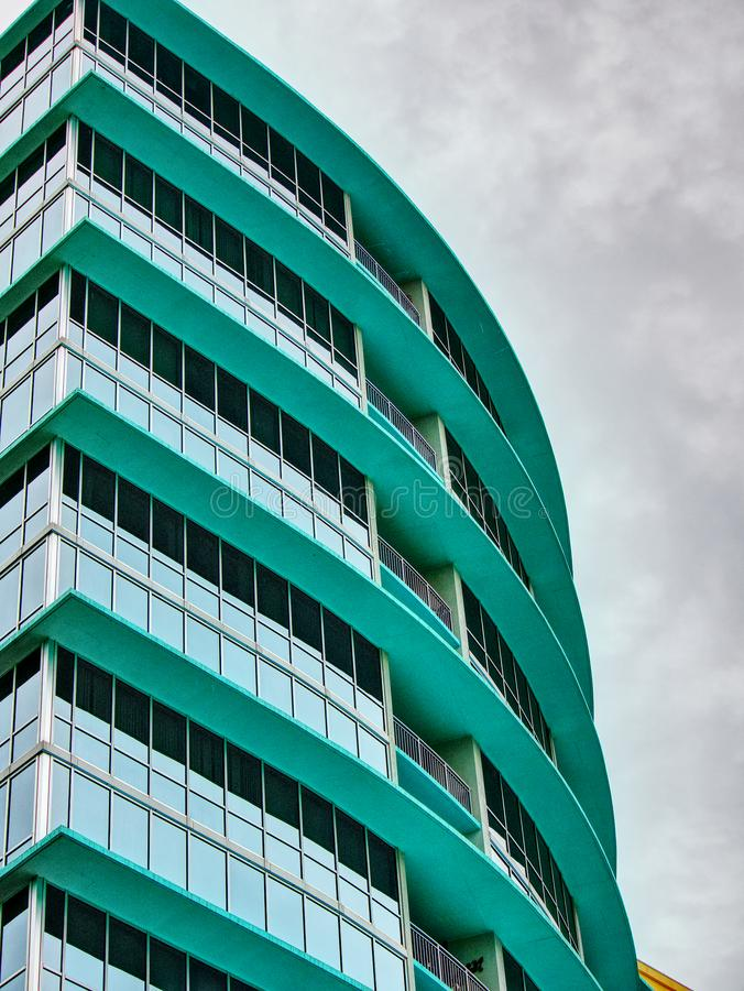 City Architecture in the middle of downtown royalty free stock image