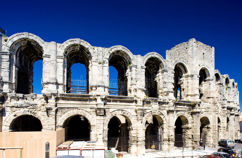 Download City of Arles stock image. Image of arches, europe, municipal - 14858883