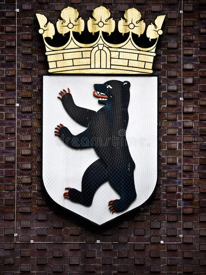 Download City arms Berlin stock image. Image of crest, signifier - 21828977