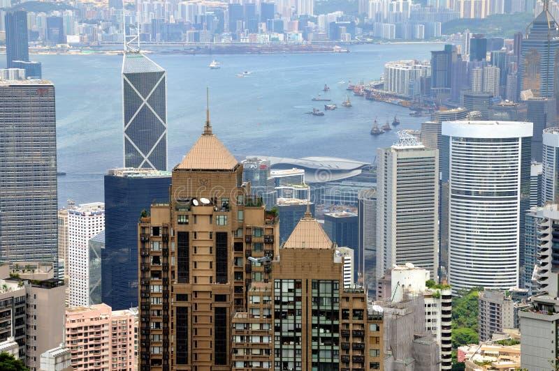 Download City Arround Harbor, Hongkong View Editorial Photo - Image: 25034036