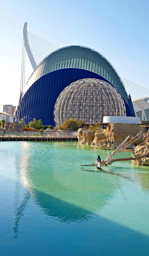 Download The City Of Arts And Sciences Editorial Stock Image - Image: 21301919