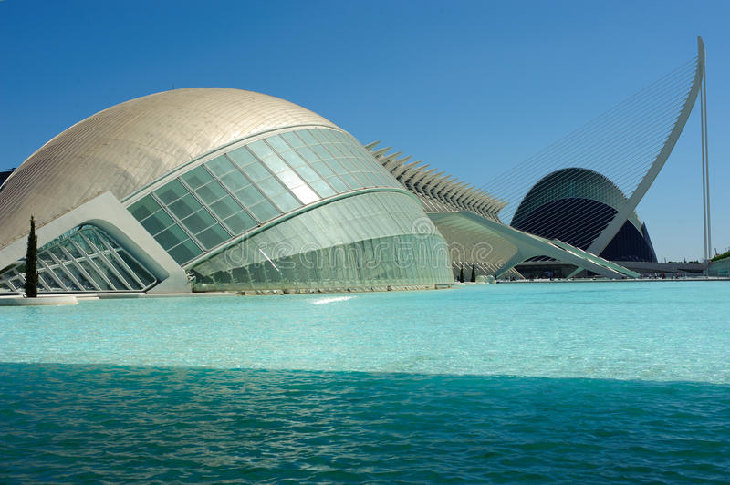 Download City of Arts and Sciences editorial stock image. Image of european - 26640269