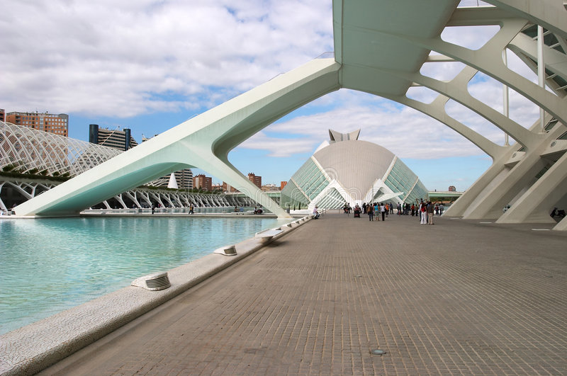Download City of Arts and Sciences editorial photo. Image of structure - 7521726