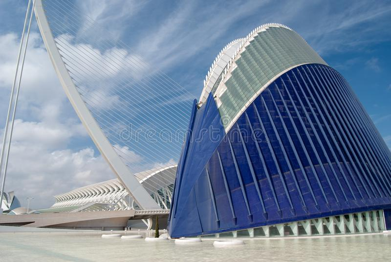 City Of Arts & Sciences stock photography
