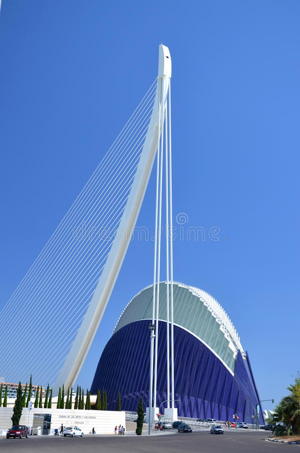 Download The City Of Arts And Sciences In Valencia, Spain Editorial Photography - Image: 26629492