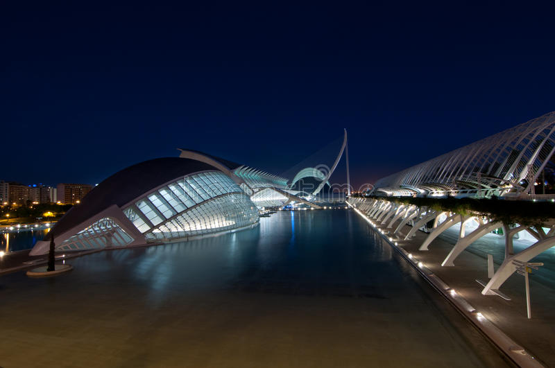 Download The City Of Arts And Sciences In Valencia, Spain Editorial Stock Photo - Image: 49309483