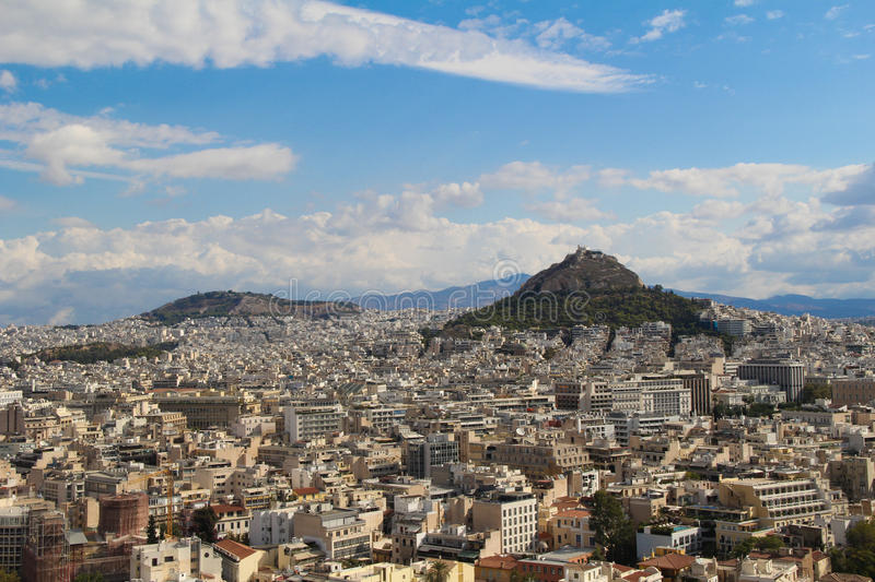 City of Athens, Greece stock images