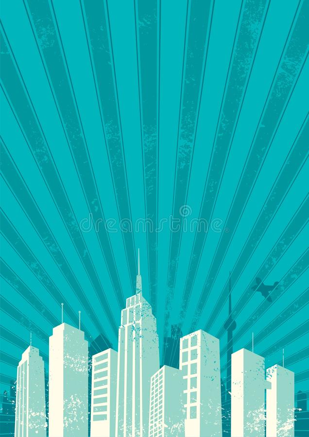 City Background vector illustration
