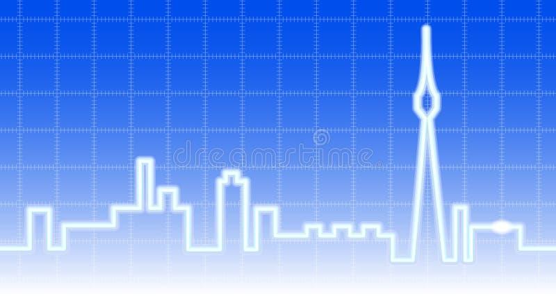 City Background Stock Photography