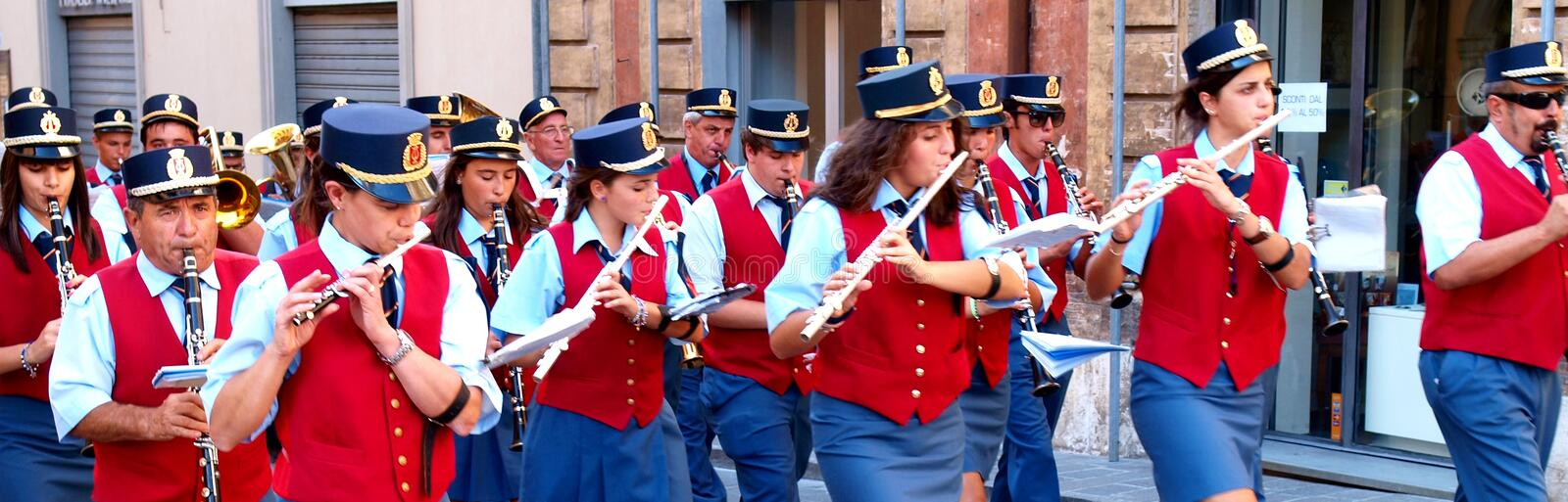 Download City band editorial photo. Image of summer, city, uniform - 24385196