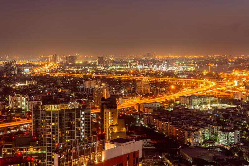 City of Bangkok  where is the capital city of Thailand royalty free stock images