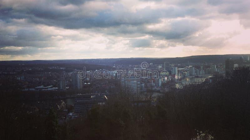 City in Belgium royalty free stock image
