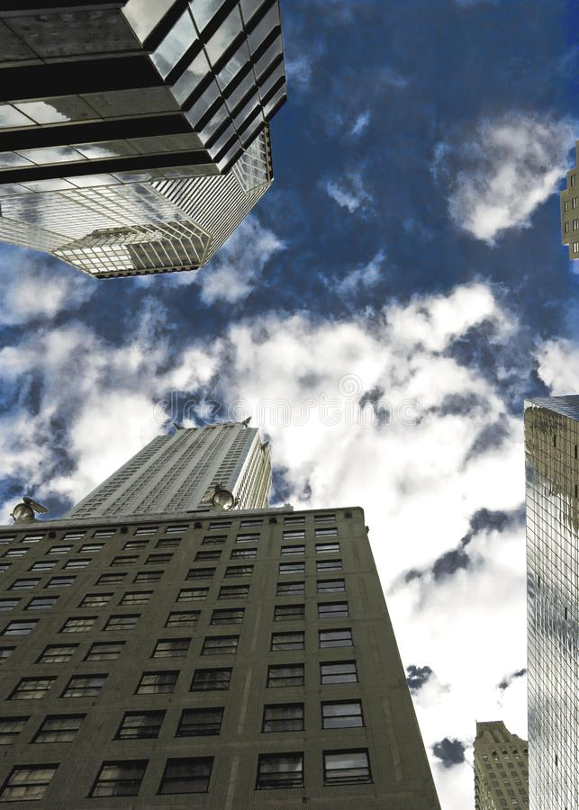 Download City From Below stock photo. Image of windows, office - 5086364