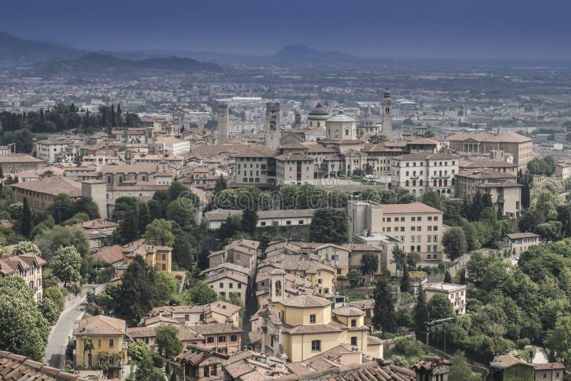 Bergamo, Italy stock photography