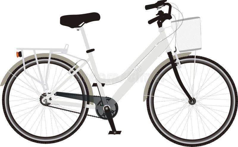 City bike stock photography