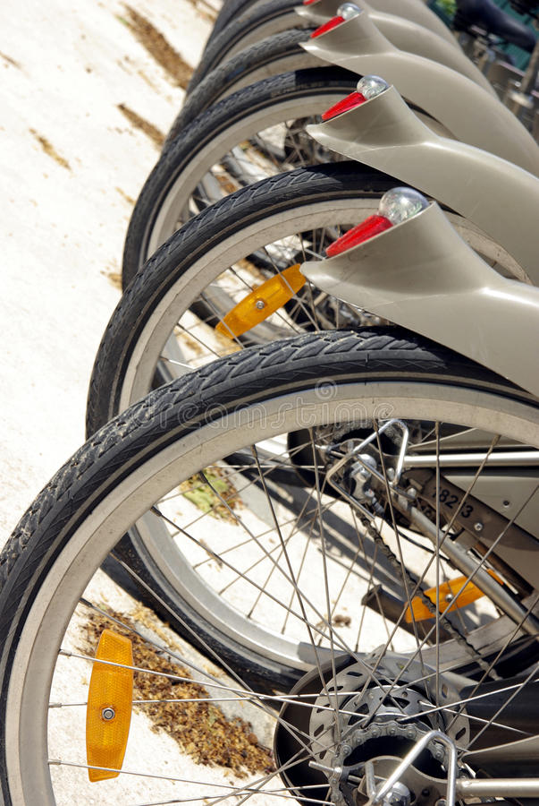 Download City bikes stock photo. Image of paris, transportation - 24998500