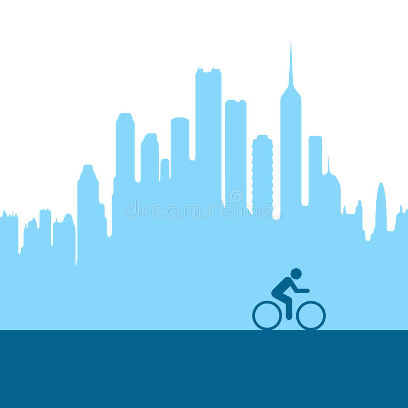 Download City Biking Stock Photography - Image: 18743382