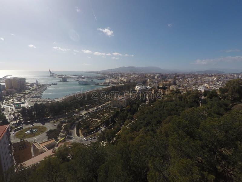 Malaga city 🇪🇸 royalty free stock photography