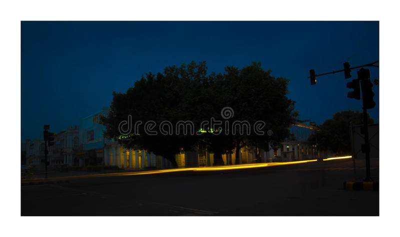 City in blur stock photography