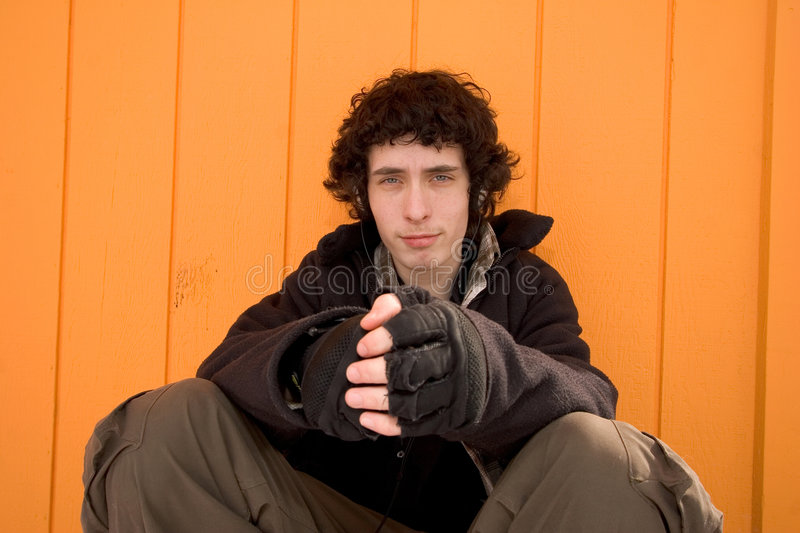 City boy royalty free stock images