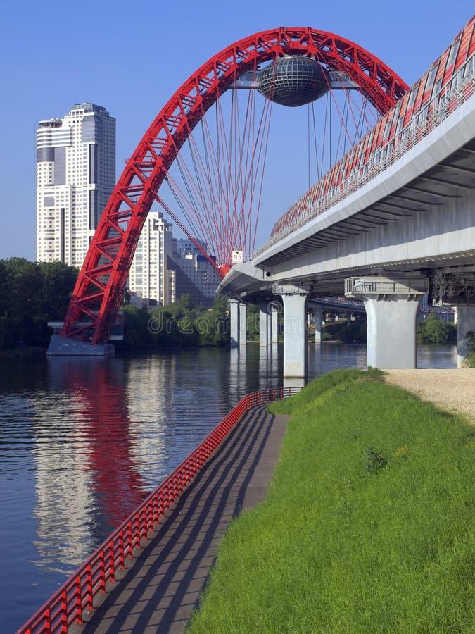 Download City bridge stock photo. Image of destination, parabolic - 20246388