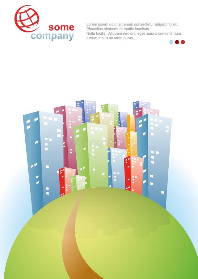 Download City Brochure stock vector. Illustration of home, header - 27382945