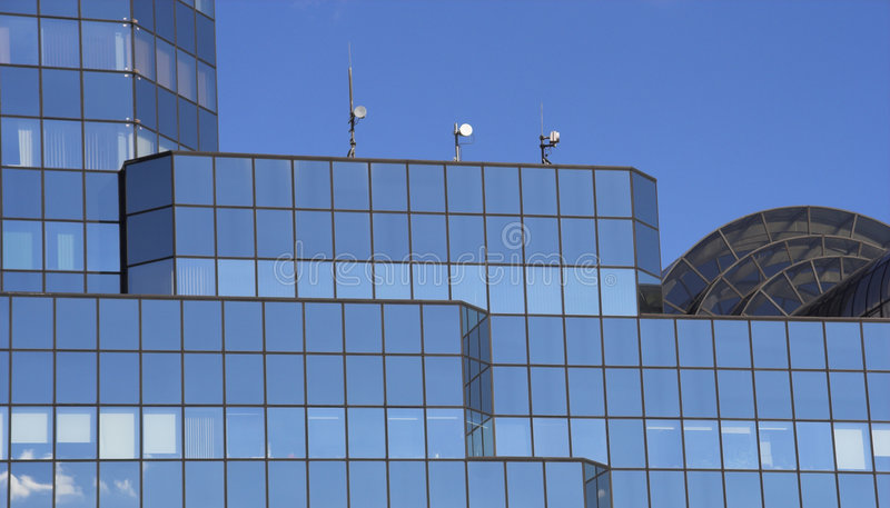 City Building royalty free stock photography