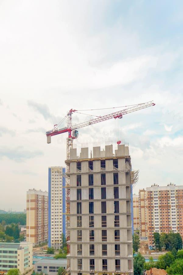 City building closeup stock image