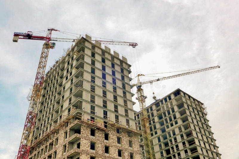 Building construction royalty free stock image