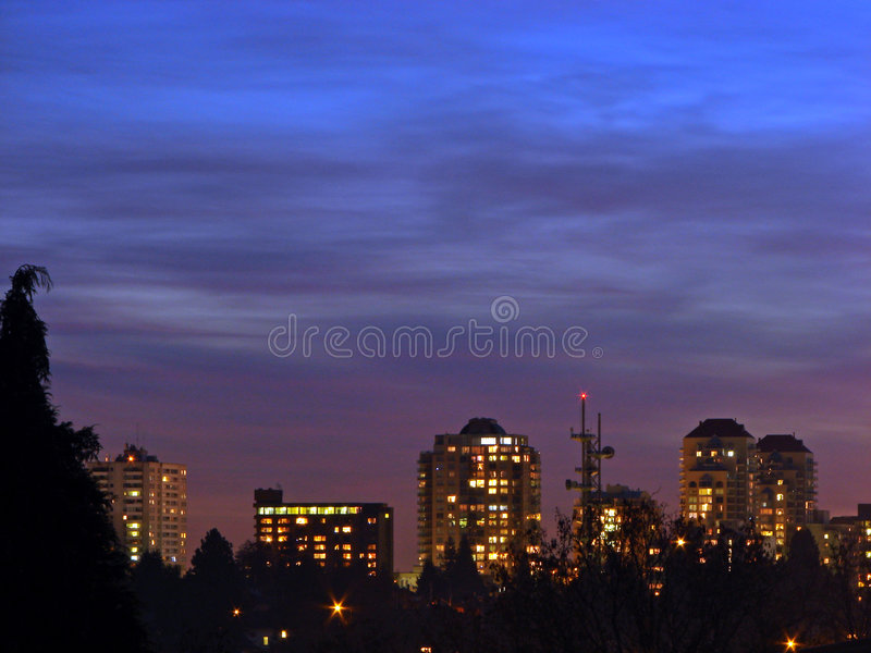Download City buildings stock image. Image of apartments, blue - 3461795