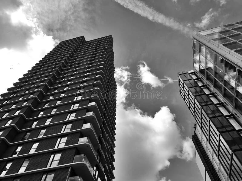 City buildings stock image