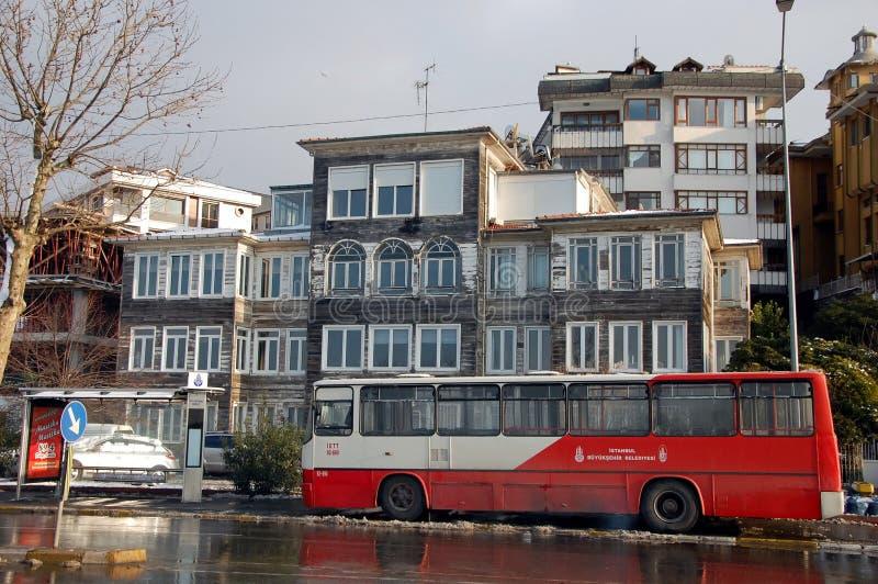 City bus in Istanbul. ISTANBUL, TURKEY - JAN 9, 2013 - City bus in Istanbul, Turkey stock image