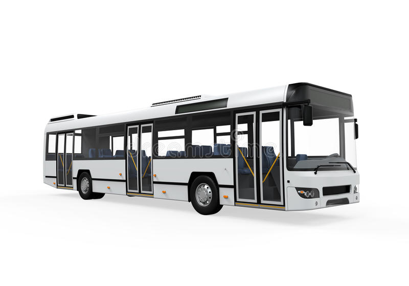 City Bus royalty free stock image