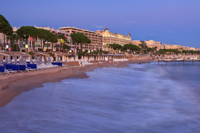 City of Cannes royalty free stock images
