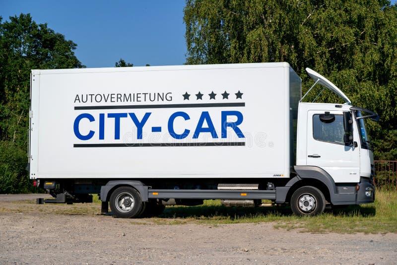 CITY-CAR rent-a-car stock photos