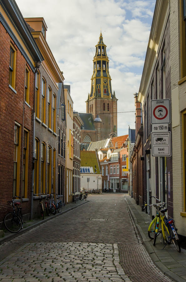 City Center in Groningen stock image Image of city northern 49039315