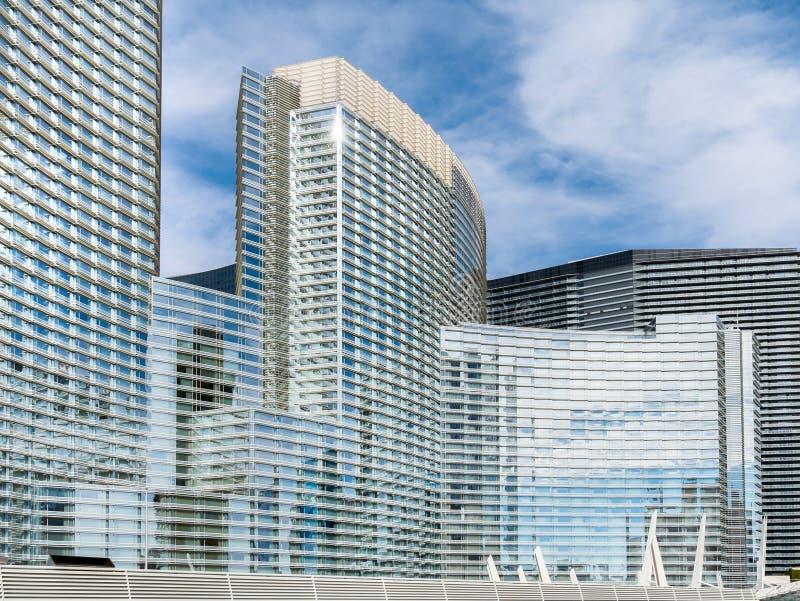 City Center, Las Vegas, Nevada stock photo