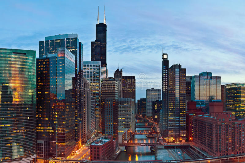 City Of Chicago Royalty Free Stock Image