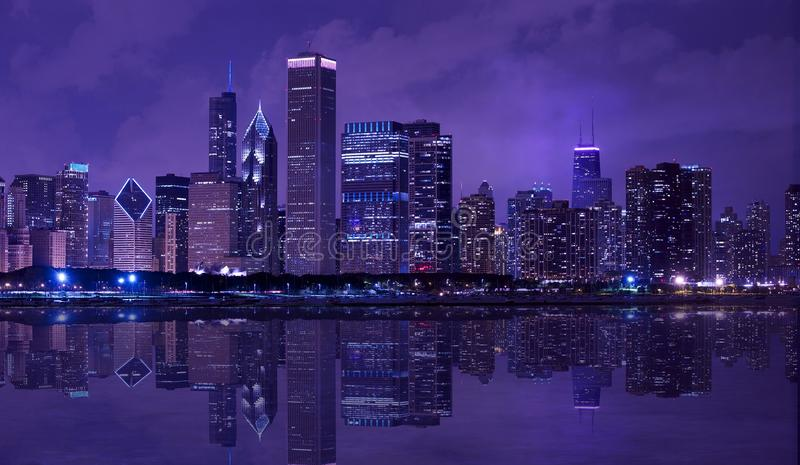 City of Chicago royalty free stock photos